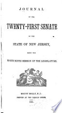 Journal of the ... Senate of the State of New Jersey