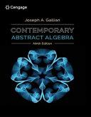 Contemporary Abstract Algebra [Pdf/ePub] eBook