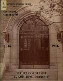 St  Matthew s Episcopal Church  Detroit  Celebrates Its Centennial  1846 1946