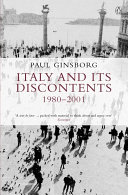 Italy and its Discontents 1980 2001