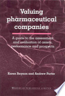 Valuing Pharmaceutical Companies Book PDF