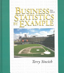 Cover of Business Statistics by Example