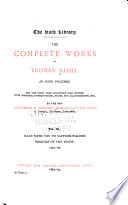 The Complete Works of Thomas Nashe     Haue with you to Saffron Walden  Terrors of the night  1594 1596