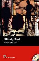 Books - Mr Officially Dead+Cd   ISBN 9781405076845