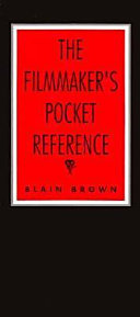 The Filmmaker s Pocket Reference