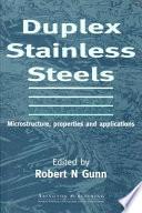Duplex Stainless Steels Book