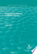 Routledge Revivals  Regional Development in Western Europe  1975