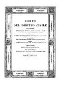 Indice Ragionato O Repertorio Di Tutto Il Corpo Del Diritto Civile (Regole Di Diritto - Zenone Isaurico)
