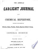 American Gas Light Journal And Chemical Repertory