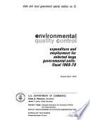 Environmental Quality Control