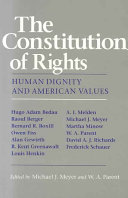 The Constitution of Rights