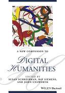 NEW COMPANION TO DIGITAL HUMANITIES