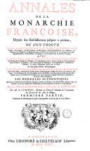 Annales de la monarchie française