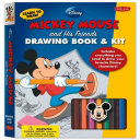 Learn to Draw Disney's Mickey Mouse and His Friends Drawing Book & Kit