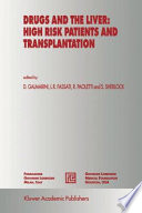 Drugs and the Liver  High Risk Patients and Transplantation