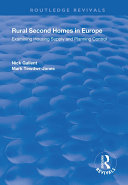 Rural Second Homes in Europe [Pdf/ePub] eBook