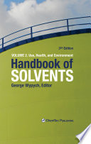 Handbook of Solvents  Volume 2