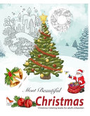 Most Beautiful CHRISTMAS  Christmas Coloring Books for Adults
