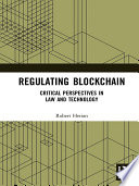 Regulating Blockchain