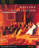 Western Civilization  Since 1560 Book PDF