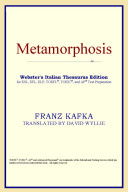 Metamorphosis (Webster's Italian Thesaurus Edition)