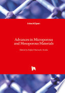 Advances In Microporous And Mesoporous Materials