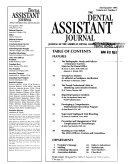 The Dental Assistant Journal
