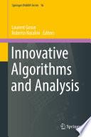 Innovative Algorithms and Analysis