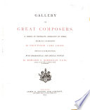 Gallery of great composers