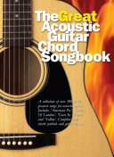 The Great Acoustic Guitar Chord Songbook Book