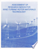 Assessment of Research Needs for Wind Turbine Rotor Materials Technology Book