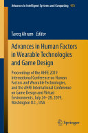 Advances in Human Factors in Wearable Technologies and Game Design Pdf/ePub eBook