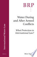Water During And After Armed Conflicts