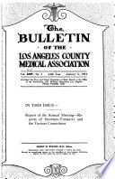 Bulletin - Los Angeles County Medical Association