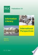 Information Literacy  International Perspectives