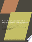 Some Recent Developments in Statistical Theory and Applications Book