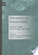 Discourses on Sustainability Book
