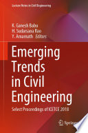 Emerging Trends in Civil Engineering