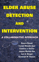 Elder Abuse Detection and Intervention
