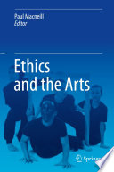 Ethics and the Arts Book