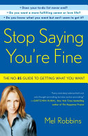 Stop Saying You're Fine Pdf/ePub eBook