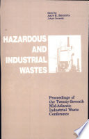 Hazardous and Industrial Waste Proceedings, 27th Mid-Atlantic Conference