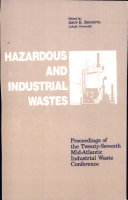 Hazardous and Industrial Waste Proceedings  27th Mid Atlantic Conference