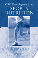 CRC Desk Reference on Sports Nutrition Book