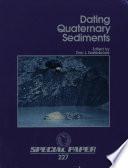 Dating Quaternary Sediments Book