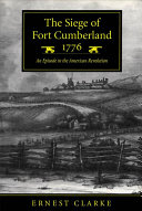 Pdf The Siege of Fort Cumberland, 1776