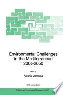 Environmental Challenges In The Mediterranean 2000 2050 Book PDF