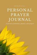 Prayer Journal for Women of Faith