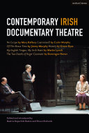Contemporary Irish Documentary Theatre Pdf/ePub eBook