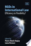 NGOs in International Law